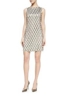 Alice + Olivia Dalyla Beaded A-Line Dress