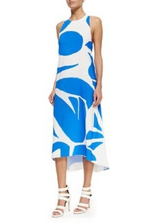 Alice + Olivia Dee Printed High-Low Dress