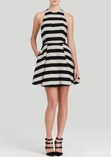 Alice + Olivia Dress - Chase Box Pleat Stripe