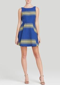 Alice + Olivia Dress - Holis Double Pleat Stripe