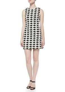 Alice + Olivia Eli Boat-Neck Sleeveless Dress
