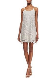 Alice + Olivia Emmie Lace Slip Dress