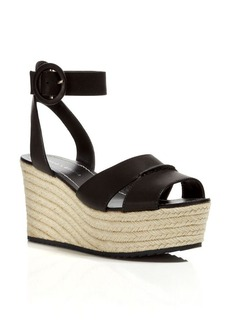 Alice + Olivia Espadrille Wedge Sandals - Roberta