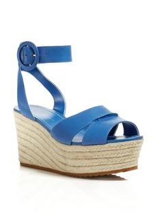 Alice + Olivia Espadrille Wedge Sandals - Roberta
