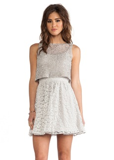 Alice + Olivia Hilta Beaded Dress