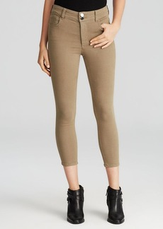 Alice + Olivia Jeans - Cropped High Waist Skinny in Earth