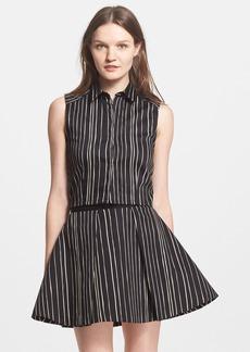 Alice + Olivia 'Lea' Stripe Crop Top