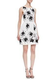 Alice + Olivia Lillyanne Embellished Cutout Dress (Stylist Pick!)