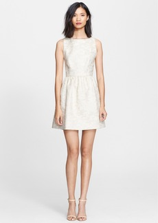 Alice + Olivia 'Lillyanne' Jacquard Fit & Flare Dress