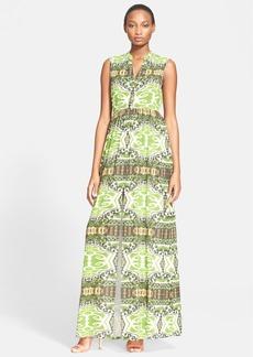 Alice + Olivia 'Marianna' Print Maxi Dress