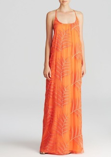 Alice + Olivia Maxi Dress - Kelly T Back Silk
