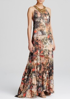 Alice + Olivia Maxi Dress - Shona Jungle Safari