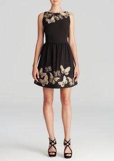 Alice + Olivia Mini Dress - Lillyanne Embellished Puff