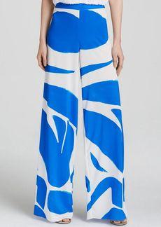 Alice + Olivia Pants - Wide Leg Abstract Cutout