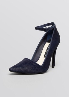 Alice + Olivia Pointed Toe Ankle Strap Pumps - Makalya High Heel