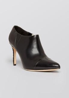 Alice + Olivia Pointed Toe High Heel Booties - Dex