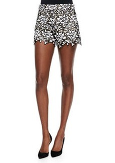 Alice + Olivia Relaxed Lace Shorts