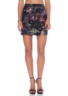 Alice + Olivia Riley A-Line Skirt