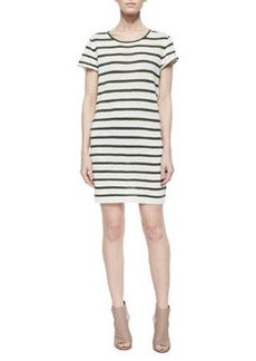 Alice + Olivia Rozlynn Striped Knit Dress