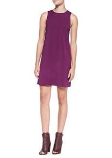 Alice + Olivia Serina Open-Back A-Line Dress