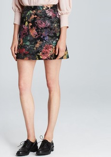 Alice + Olivia Skirt - Riley Floral