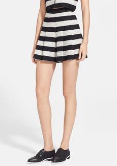 Alice + Olivia Stripe Tweed Skirt