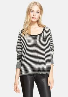 Alice + Olivia Stripe Wool Blend Sweater