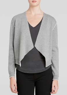Alice + Olivia Sweatshirt Jacket - Two Tone Structured