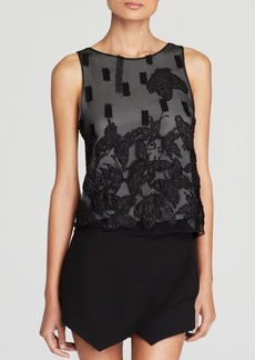 Alice + Olivia Top - Anna Fitted