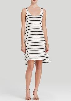 Alice + Olivia Tank Dress - Double Layer Stripe