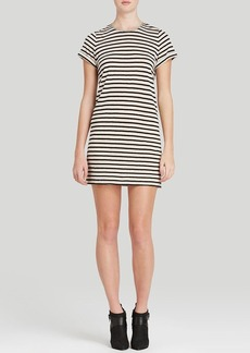Alice + Olivia Tunic Dress - Roll Sleeve Stripe