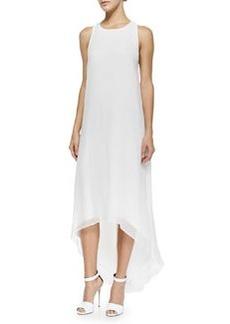 Alice + Olivia Twist-Back High-Low Dress