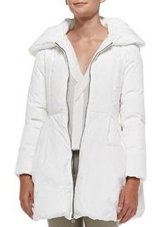 Blakeley Puff-Collar Coat   Blakeley Puff-Collar Coat