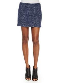 Elana Tweed Mini Skirt, Black/Blue   Elana Tweed Mini Skirt, Black/Blue