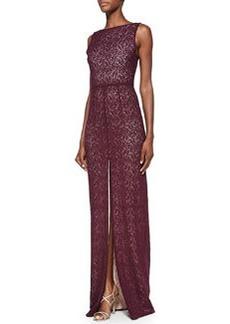 Gemma Lace Front-Slit Gown   Gemma Lace Front-Slit Gown