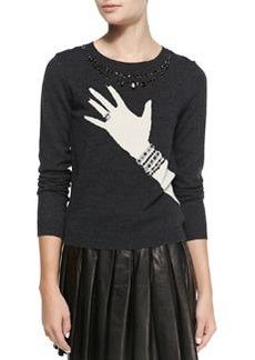 Hand-with-Ring Sweater   Hand-with-Ring Sweater