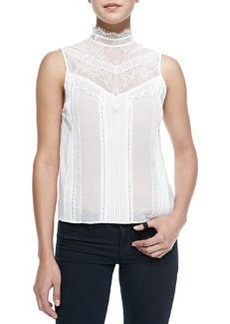 Harlow Victorian-Inspired Sleeveless Blouse   Harlow Victorian-Inspired Sleeveless Blouse