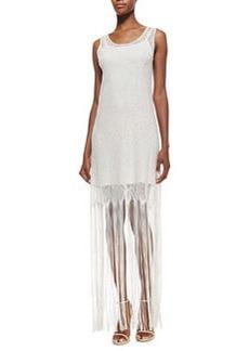Lena Crocheted-Overlay Maxi Dress   Lena Crocheted-Overlay Maxi Dress