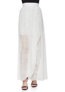 Maibella Embroidered Ruffled Maxi Skirt   Maibella Embroidered Ruffled Maxi Skirt