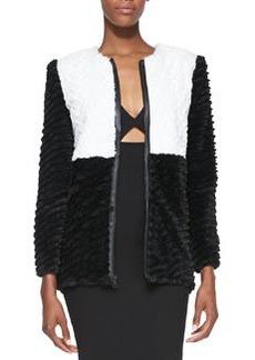 Pali Two-Tone Faux-Fur Jacket   Pali Two-Tone Faux-Fur Jacket