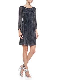 Riska Embellished Boat-Neck Dress   Riska Embellished Boat-Neck Dress