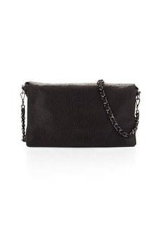 Scarlet Crossbody Leather Satchel Bag, Black   Scarlet Crossbody Leather Satchel Bag, Black