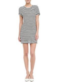 Striped Slub Dress   Striped Slub Dress