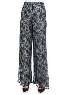 Super Flare Lace Wide-Leg Pants   Super Flare Lace Wide-Leg Pants