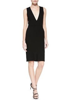 Tany V-Neck Fitted Dress   Tany V-Neck Fitted Dress