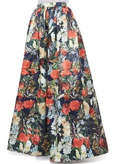 Tina Floral Ball Gown Skirt   Tina Floral Ball Gown Skirt