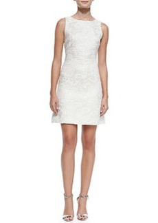 Whela Shimmery Jacquard A-Line Dress   Whela Shimmery Jacquard A-Line Dress