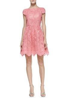 Zenden Scallop Lace Dress   Zenden Scallop Lace Dress