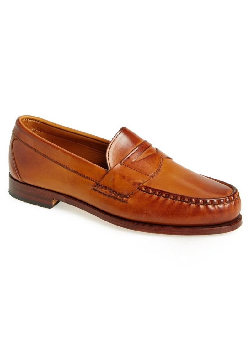 """The first Allen Edmonds factory opened in on the shores of Lake Michigan in Wisconsin and has been producing some of the finest footwear in the world ever since. To this day, Allen Edmonds follows the same step manufacturing process that was invented by Elbert W. Allen and BIll """"Pops"""" Edmonds."""