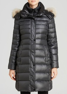 Andrew Marc Gayle Luxe Down Ashley Fur Hood Coat